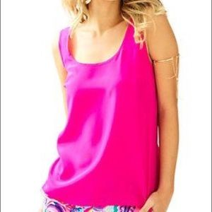 Lilly Pulitzer size L Cosmos top